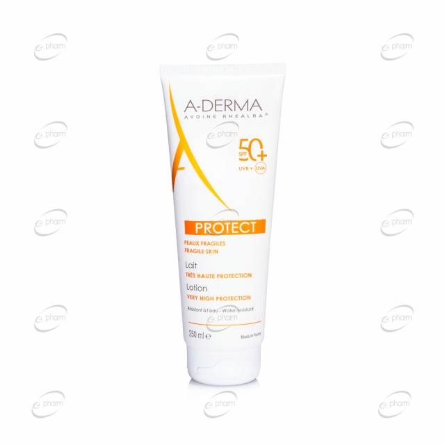 A-DERMA PROTECT мляко SPF 50+