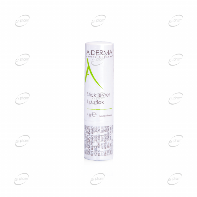 A-DERMA стик за устни