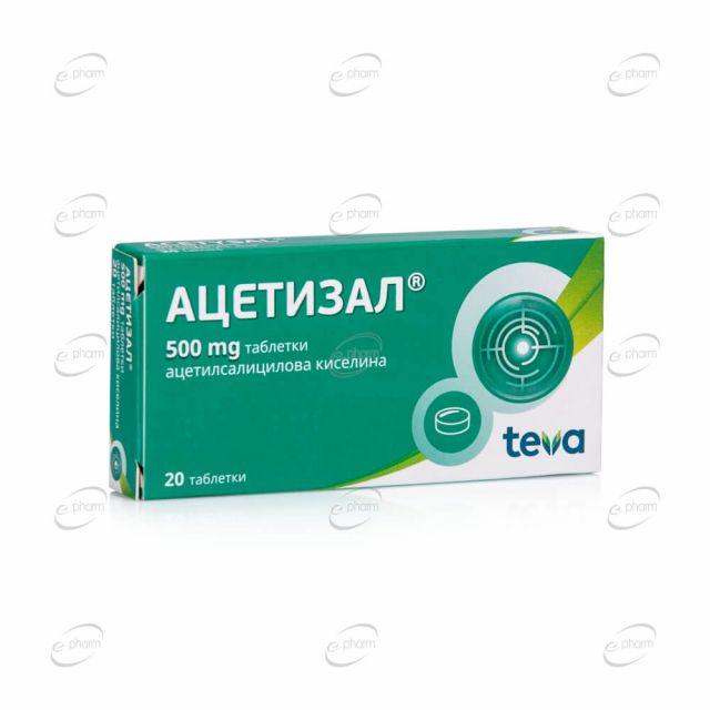 АЦЕТИЗАЛ таблетки