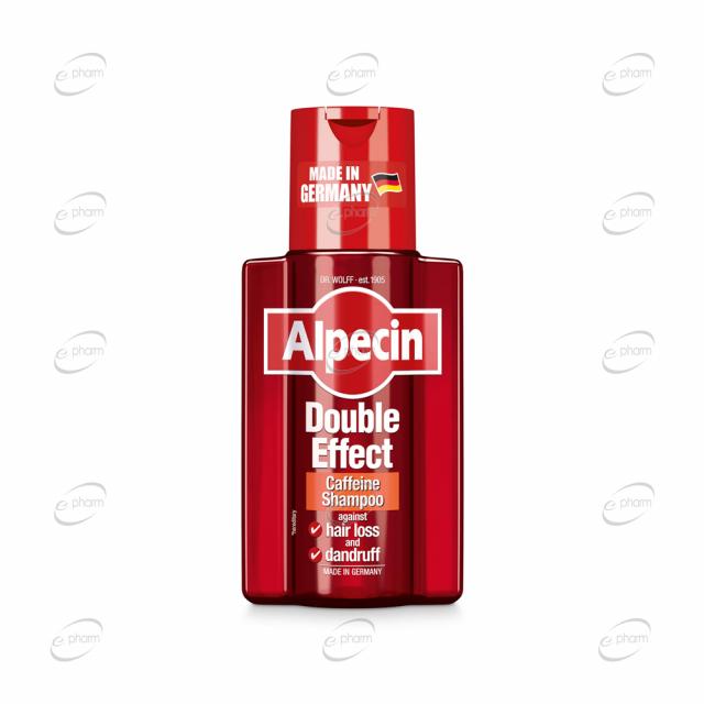 ALPECIN DOUBLE EFFECT шампоан
