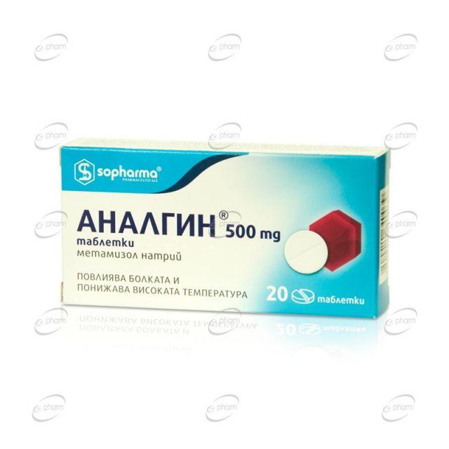 АНАЛГИН таблетки