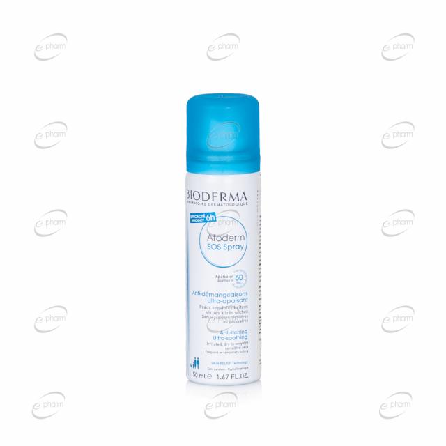 BIODERMA Atoderma SOS Spray