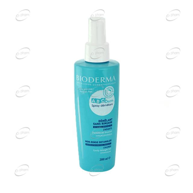 BIODERMA ABCDerm Spray démêlant