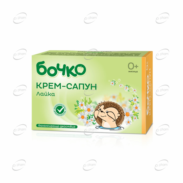 БОЧКО Крем-сапун Лайка
