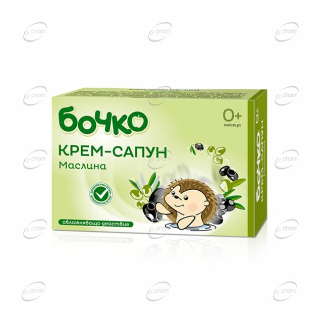 БОЧКО Крем-сапун Маслина