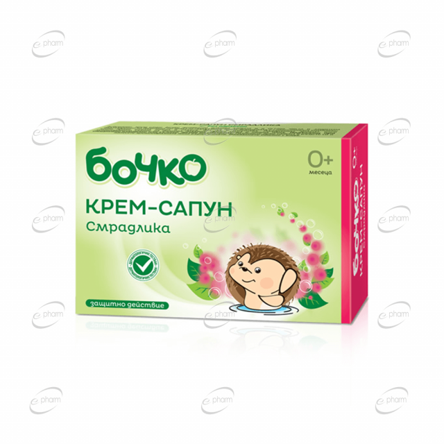 БОЧКО Крем-сапун Смрадлика