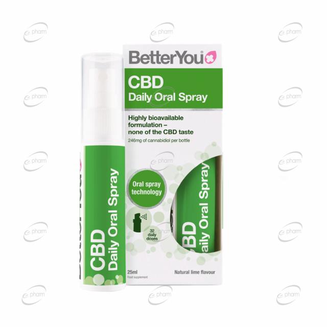CBD Daily Oral Spray BetterYou