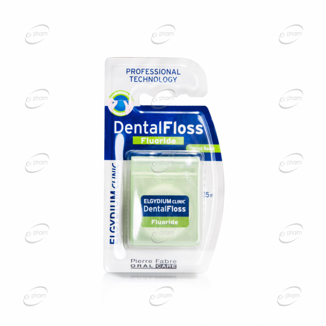 ELGYDIUM Clinic конец за зъби флуорид х 35 м