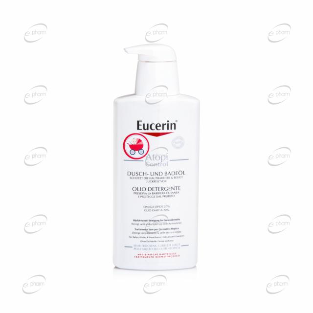 Eucerin AtopiControl Измиващо олио