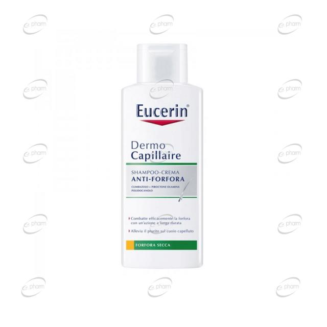 Eucerin DermoCapillaire Крем-шампоан против сух пърхот