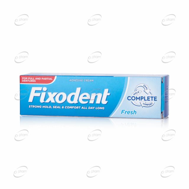 FIXODENT complete фиксиращ крем