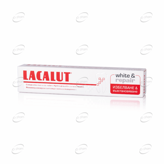 LACALUT white and repair