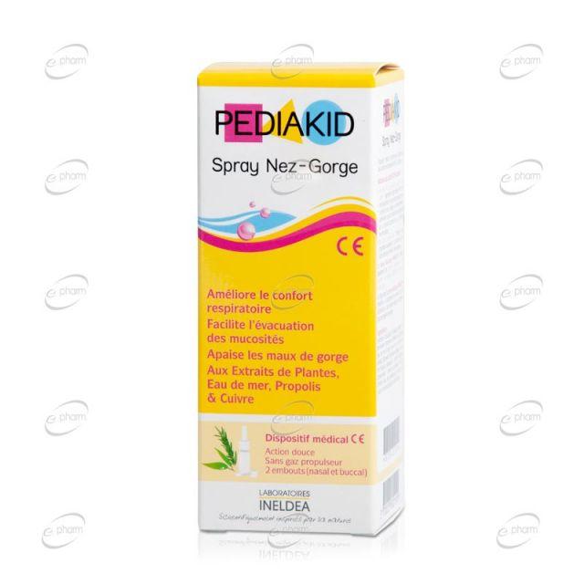 PEDIAKID Spray Nez-Gorge