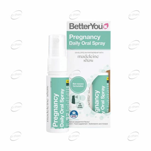 Pregnancy Oral Spray BetterYou
