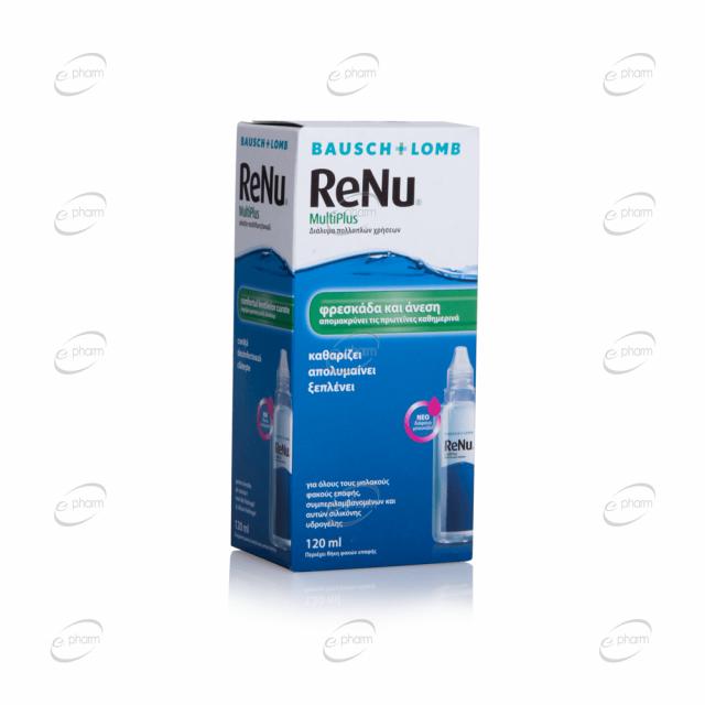 ReNu multiplus комбиниран разтвор за лещи
