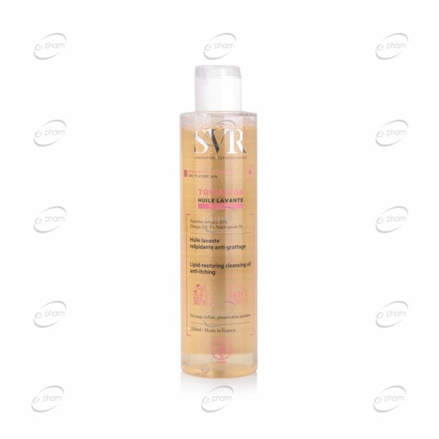 SVR Topialyse Мицеларно олио за суха и атопична кожа