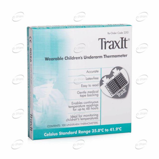 TRAXIT термометър за подмишница, подходящ за деца
