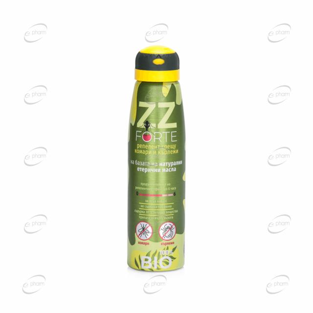 ZZ FORTE спрей срещу комари и кърлежи