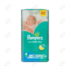 Pampers Active baby-dry №4