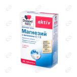Допелхерц актив Магнезий с Витамини С + Е