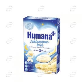 Humana Млечна каша с Банан, Грис и овесени стърготини