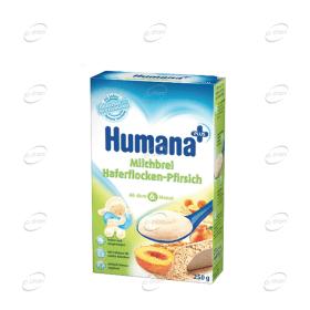 Humana Млечна каша овесени ядки и праскова