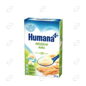 Humana Млечна каша с маслени бисквити