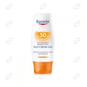 Eucerin Слънцезащитен крем-гел против слънчеви алергии SPF 50