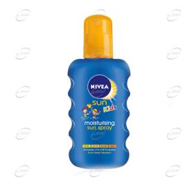 NIVEA Sun Цветен слънцезащитен спрей за деца SPF20