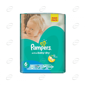 Pampers Active baby-dry №6
