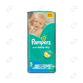Pampers Active baby-dry №5