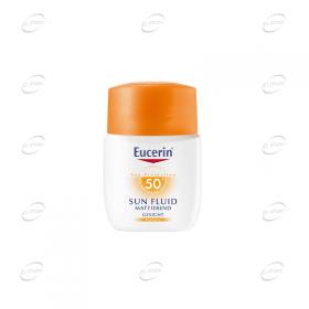 Eucerin Слънцезащитен матиращ флуид SPF 50+