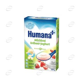 Humana с ягоди и кисело мляко