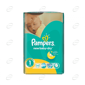 Pampers New baby-dry №1