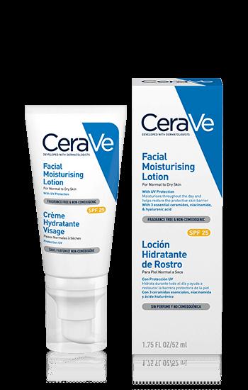 CeraVe Хидратиращ крем за лице с UV защита SPF25